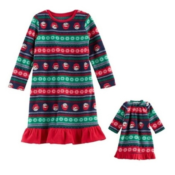 Jammies for your Families Pajamas | Girls And Doll Christmas ...